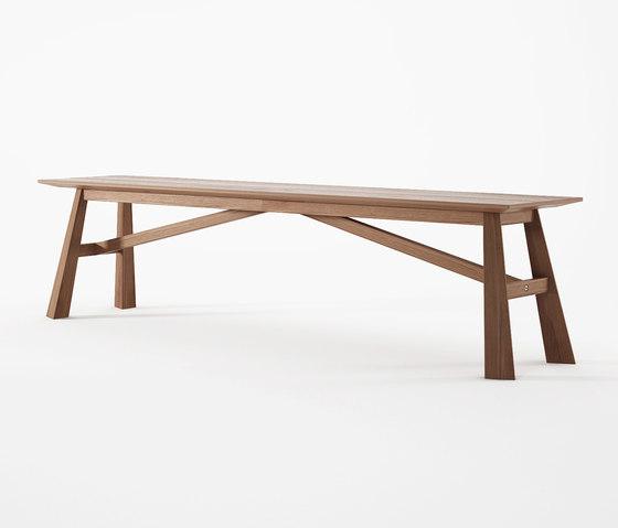 Carpenter by Karpenter RECTANGULAR DINING TABLE BENCH : carpenter bench carpenter 180x37x45 a of b from architonic.com size 560 x 479 jpeg 18kB