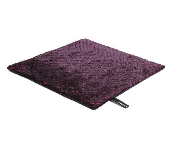Dc Epic deep purple hot pink von Miinu | Formatteppiche / Designerteppiche