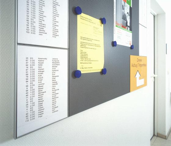 quintessenz Tableaux d'affichage magnétiques de Meng Informationstechnik | Chevalets de conférence / tableaux