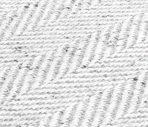 Envalab silver gray von Miinu | Formatteppiche / Designerteppiche