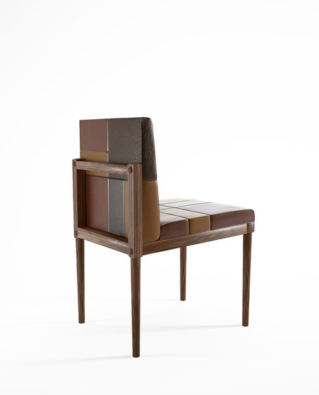 Katchwork SIDE CHAIR de Karpenter | Chaises