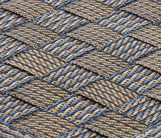 Flatbox blue by Miinu | Rugs