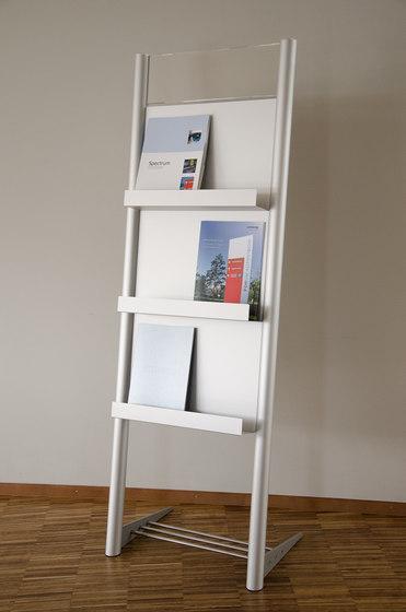 tube+panel mobile upright D by Meng Informationstechnik | Display stands