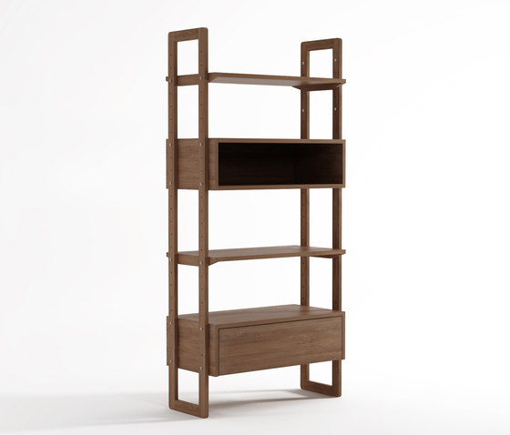 KWSU WALLSHELF UNIT - SINGLE by Karpenter | Shelving