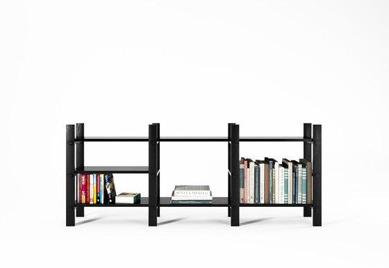 Ludik rack h3 moduli libreria karpenter architonic for Moduli libreria