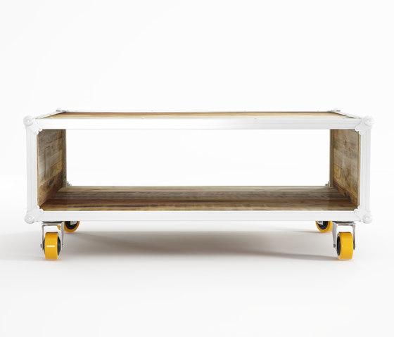 Roadie RECTANGULAR COFFEE TABLE by Karpenter | Coffee tables