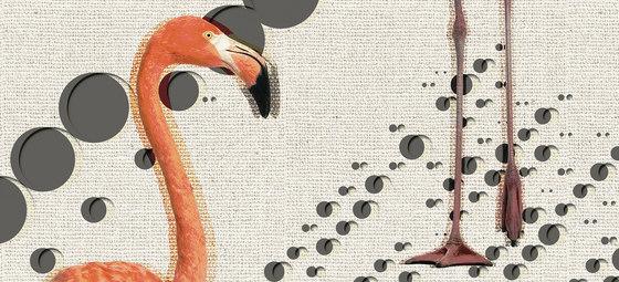 Flamingos de Inkiostro Bianco | Arte