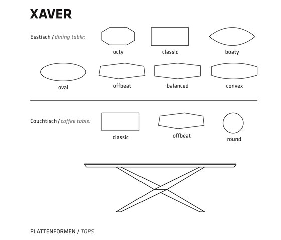 XAVER COFFEE TABLE di Belfakto | Tavolini bassi