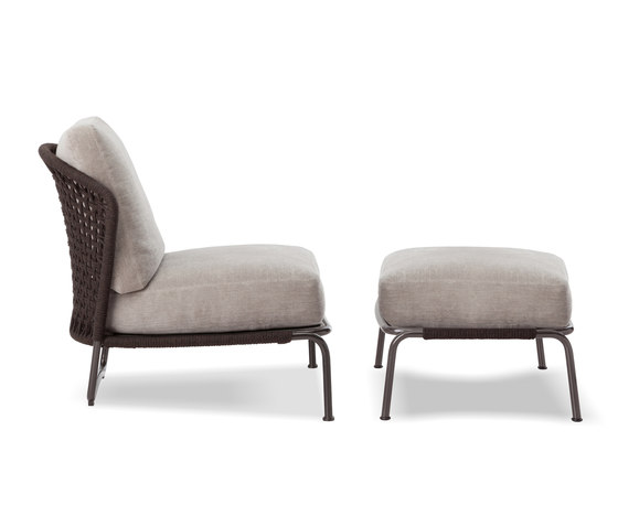 Aston Cord Indoor by Minotti | Armchairs
