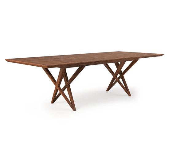 VIVIAN TABLE WALNUT von Belfakto | Esstische