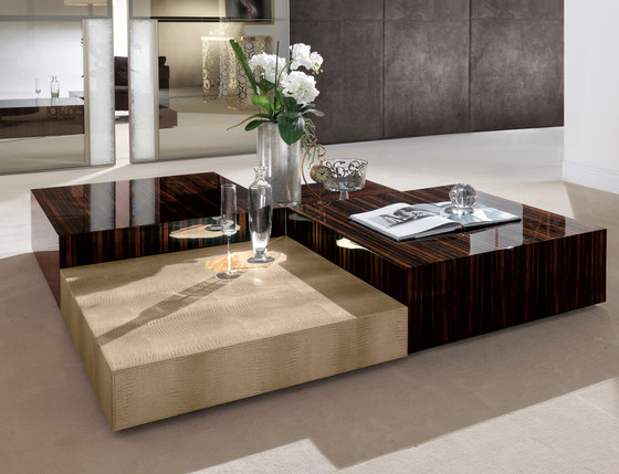 Safir by Longhi S.p.a. | Coffee tables