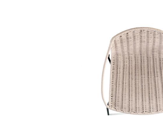 Lapala Sessel mit Polyesterseil von Expormim | Restaurantstühle