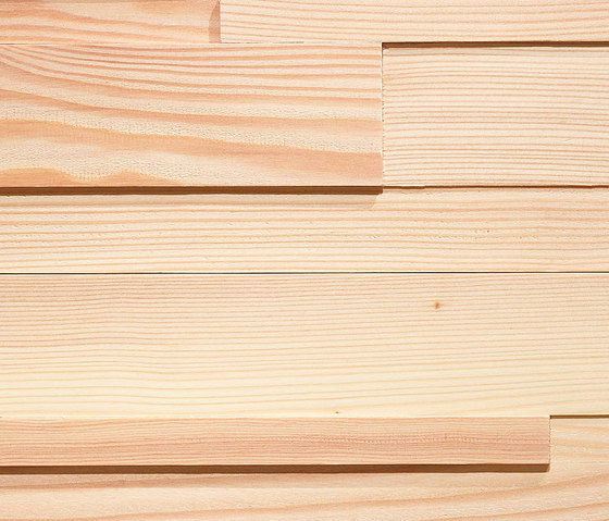 ELEMENTs CUBE Larch white by Admonter Holzindustrie AG | Wood panels