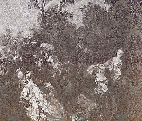 Toile De Jouy 01 di Inkiostro Bianco | Quadri / Murales