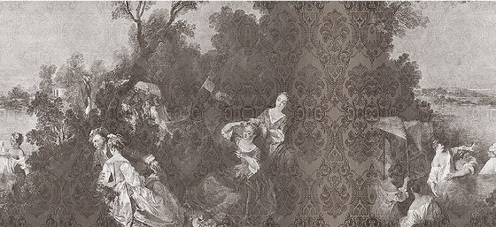 Toile De Jouy 01 de Inkiostro Bianco | Arte