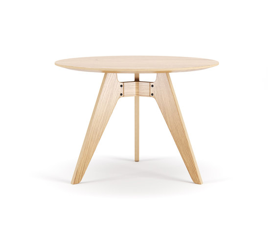 Lavitta Round Table 100cm – Oak de Poiat | Tables de repas