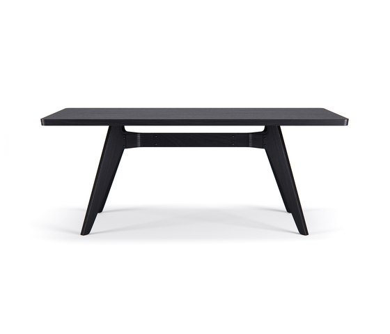 Lavitta Table 180cm – Stained Black de Poiat | Mesas comedor