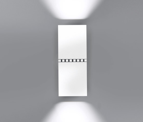 Dau doble spot LED 6478 von Milán Iluminación | Wandleuchten
