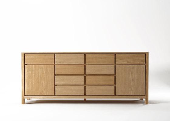 Solid SIDEBOARD 2 DOORS 10 DRAWERS di Karpenter | Credenze