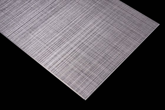 Aluminium | 500 | Hairline-Cross-hatch grinding di Inox Schleiftechnik | Lamiere metallo