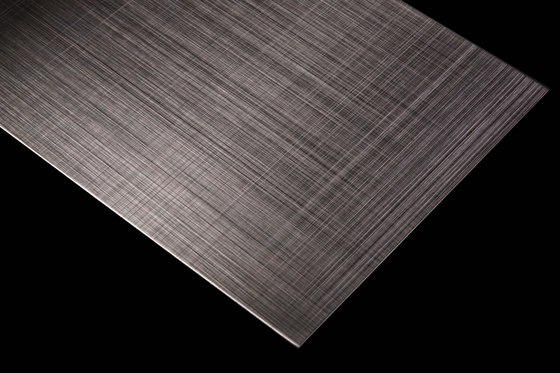 Stainless Steel | 500 | Hairline-Cross-hatch grinding by Inox Schleiftechnik | Metal sheets