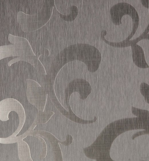 Stainless Steel | 300 | Flower di Inox Schleiftechnik | Lastre