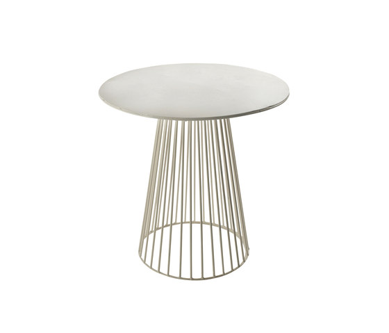 Antonino Bistrot Table Garbo40 Round White by Serax | Side tables