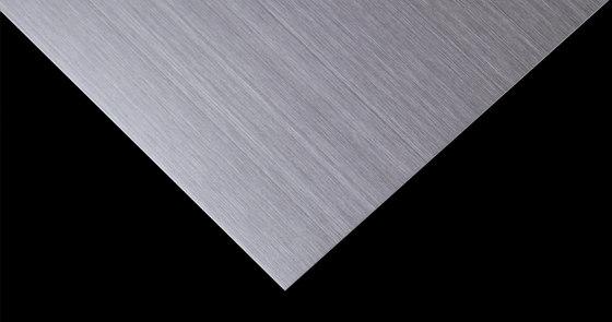 *Stainless Steel Hairline | 520 di Inox Schleiftechnik | Lamiere metallo
