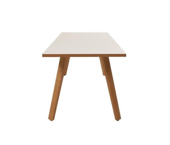 Maverick Tisch (mit Lenolium) von KFF | Esstische