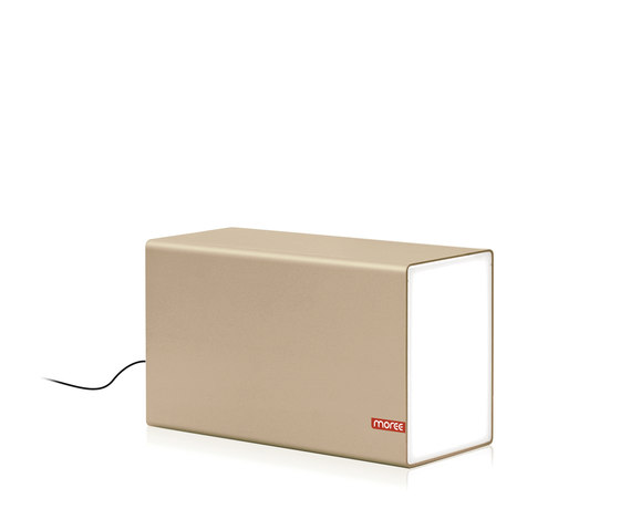Eraser 380 Champagne by Moree   Table lights