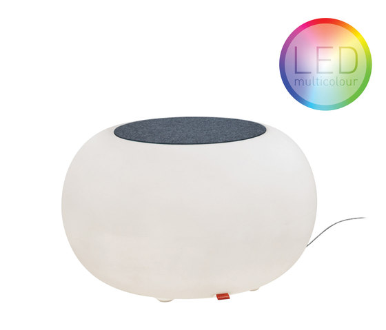 Bubble Indoor LED von Moree | Poufs / Polsterhocker