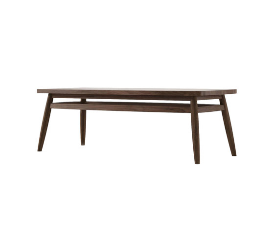 Twist RECTANGULAR COFFEE TABLE by Karpenter | Side tables