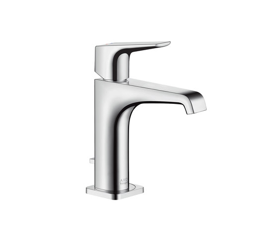 AXOR Citterio E Einhebel-Waschtischmischer 150 mit Hebelgriff mit Zugstangen-Ablaufgarnitur by AXOR | Wash basin taps