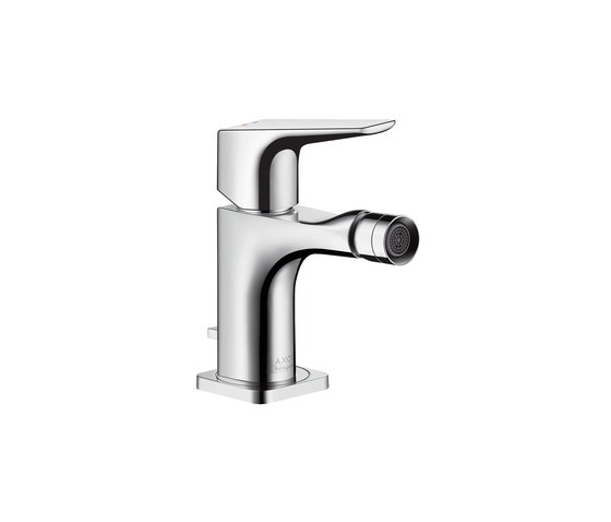AXOR Citterio E Single lever bidet mixer with lever handle with pop-up waste set by AXOR | Wash basin taps