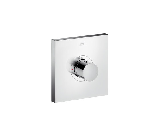 AXOR ShowerSelect Square thermostatic mixer highflow for concealed installation by AXOR | Shower controls