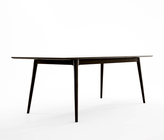 Vintage EXTENSION DINING TABLE W/ BUTTERFLY SYSTEM de Karpenter | Mesas comedor