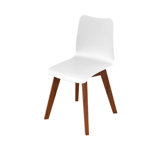 Slim Wood Collection Dining | Chair Wood de Viteo | Sillas