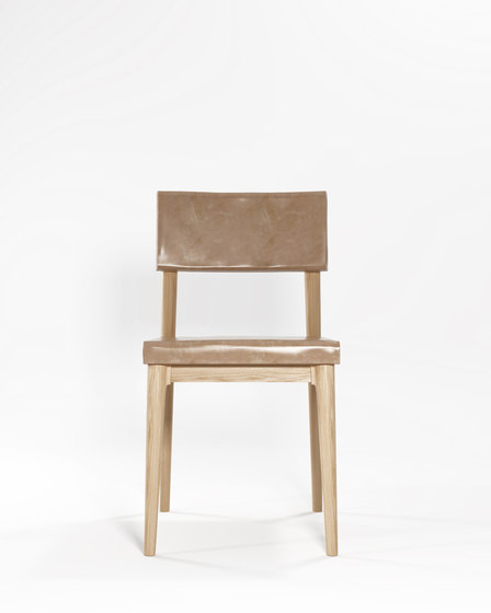 Vintage DINING CHAIR W/ LEATHER by Karpenter | Chairs