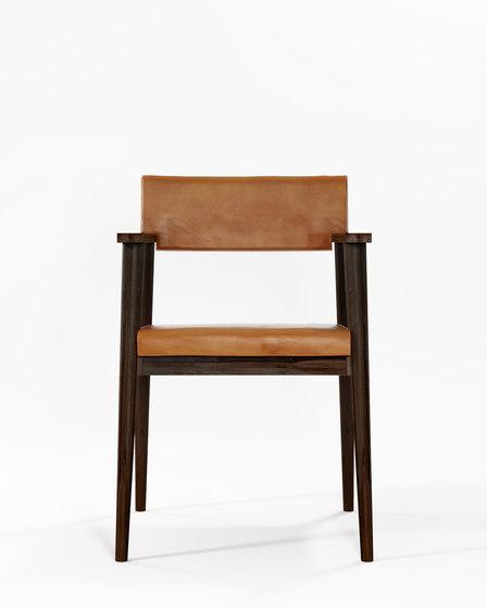 Vintage ARM CHAIR W/ LEATHER von Karpenter | Stühle