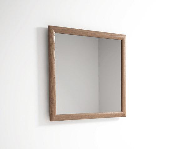 Vintage SQUARE HANGING MIRROR by Karpenter | Mirrors