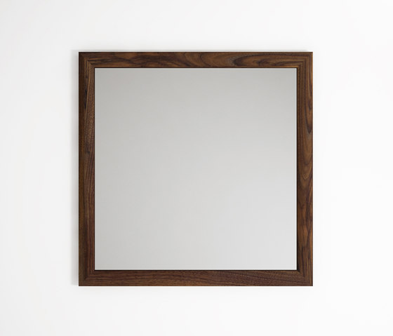 Vintage SQUARE HANGING MIRROR by Karpenter | Mirrors