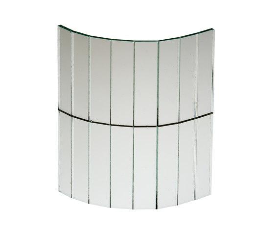 Mosaico Specchi | Specchio Bianco 14. de Antique Mirror | Verre décoratif