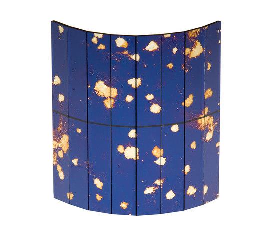 Mosaico Specchi | Polvere di Stelle Blu 2. by Antique Mirror | Decorative glass