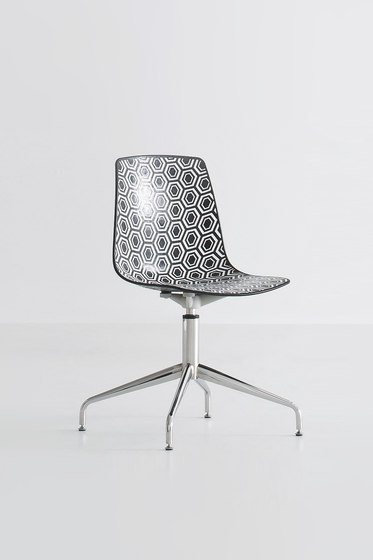 Alhambra 5R by Gaber | Visitors chairs / Side chairs
