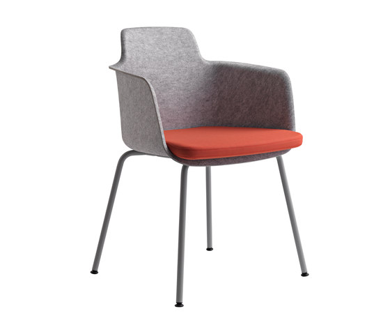 Tono by Randers+Radius | Visitors chairs / Side chairs