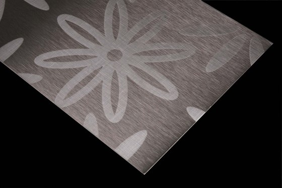 Stainless Steel | 110 | Blossoms by Inox Schleiftechnik | Metal sheets