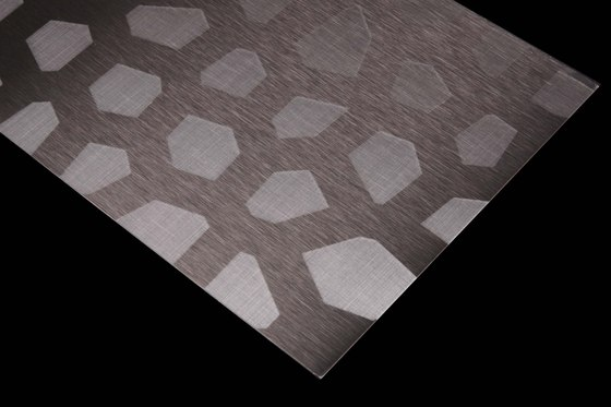 Stainless Steel | 170 | Shards by Inox Schleiftechnik | Metal sheets