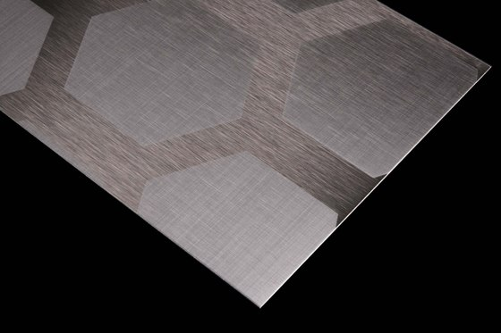 Stainless Steel | 200 | Honeycomb by Inox Schleiftechnik | Metal sheets