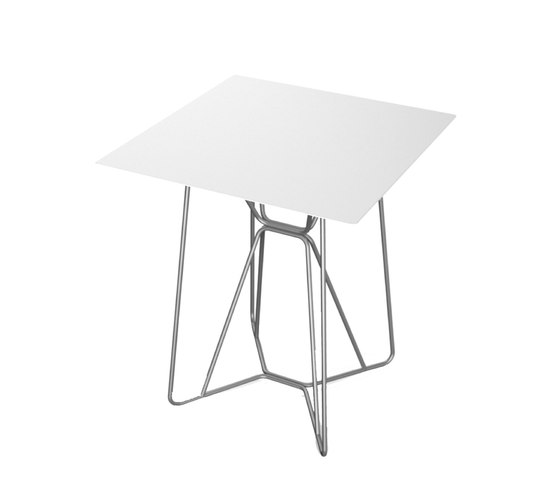 Slim Collection Dining | Table Square 64 by Viteo | Dining tables