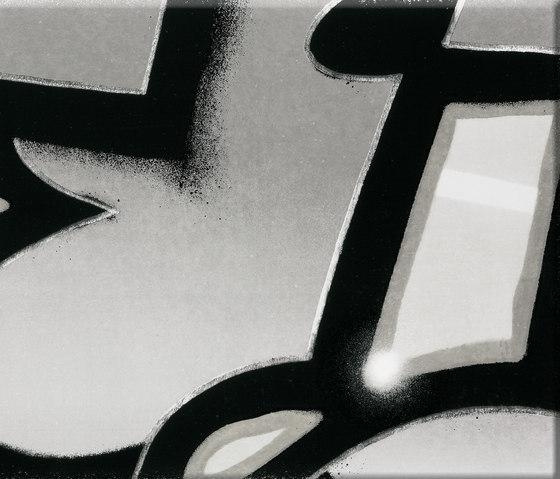 GRAFFITI black and white di steuler|design | Piastrelle ceramica